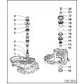 κελυφος-περιβλημα σασμαν vw 0a4 -02s